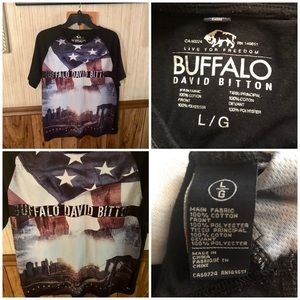 Buffalo ( David Britton ) Size Large